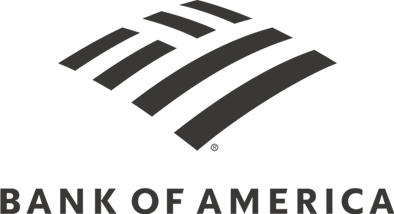 logo Bank of America negro